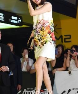 金荷娜出席《神之一手》電影VIP首映