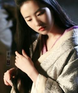 劉亦菲唯美古裝劇照圖片