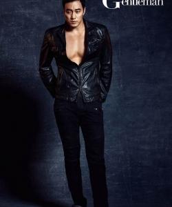 韓星蘇志燮時尚大片 大秀健碩身材露紋身 蘇志燮圖片
