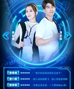 賈靜雯、修杰楷組合《極速前進》第四季海報圖片
