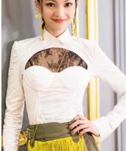 張韶涵《歌手2》性感寫真圖片