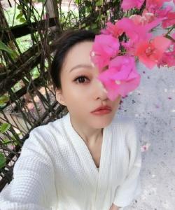 張韶涵小清新甜美自拍寫真圖片