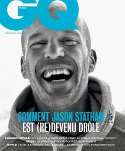 杰森·斯坦森時尚雜志封面大片