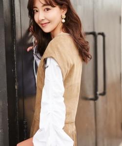 米露溫柔甜美時尚寫真圖片