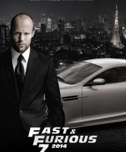 杰森斯坦森《速度與激情7》海報劇照圖片