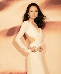 章子怡品牌活動魅力性感寫真圖片