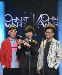 林俊杰獲音樂V榜年度盛典 最佳男歌手圖片