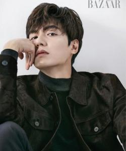 亞洲男神李敏鎬最新時尚雜志帥氣寫真圖片