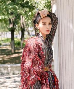海鈴甜美俏皮時尚雜志寫真圖片