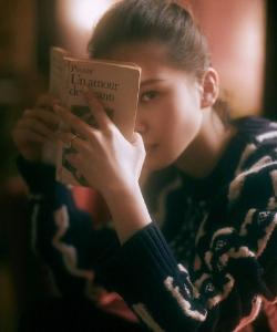 劉詩詩唯美意境時尚大片寫真圖片
