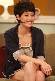 大陸女演員馬伊琍參加訪談節目組圖