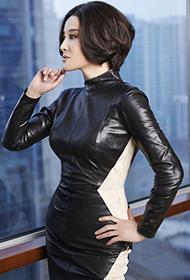 刘晓庆时尚杂志造型 尽显女神魅力