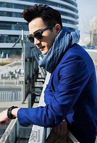 奶爸刘恺威优雅时尚街拍