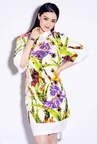 蒋欣优雅时尚写真 可爱俏皮模样惹人疼