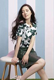 女演员郭碧婷甜美迷人写真