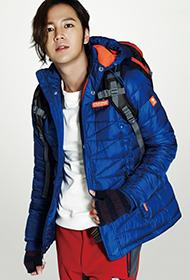 张根硕携美模拍摄冬日时尚服装写真