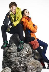 姜素拉金贤重携手代言冬季时尚服饰