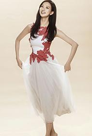 台湾女明星林志玲翩翩起舞妩媚写真