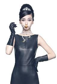 Angelababy展现酷帅柔情百变写真