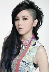 香港女歌手鄧紫棋酷炫造型組圖