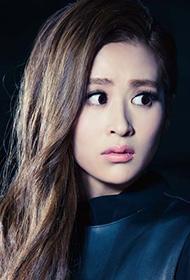 美女演员颖儿时尚健康杂志拍摄