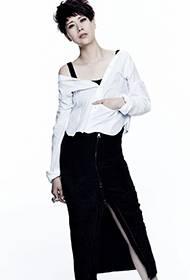 最具人气女演员海清微露香肩性感迷人