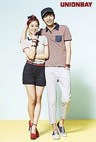 李民基與KARA攜手拍攝初夏服飾展青春活潑