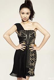 香港女歌手薛凯琪时尚俏皮写真