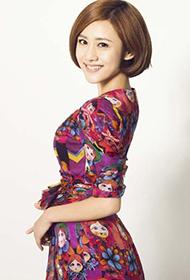 刘芸甜美宛若童话里的公主写真