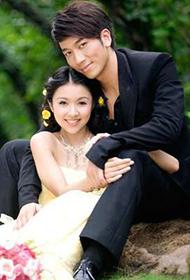 香港女演员薛凯琪唯美婚纱写真