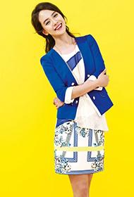 韩国女星宋智孝展现夏日青春活力写真