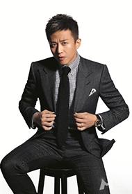 邓超酷帅装扮大展男人成熟魅力