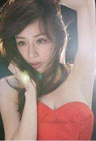 台湾女星王心凌甜美迷人组图