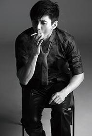 吴奇隆黑白写真大片型男魅力四射