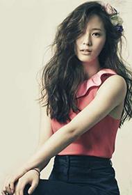 韩国女星郑秀晶百变造型高清写真照