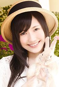 偶像美少女渡边麻友清纯可人写真照