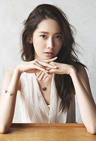 韩国女歌手林允儿优雅高贵气质写真