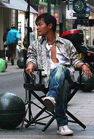 男神陈思成唯美街拍图片