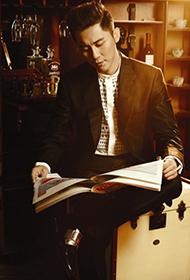 李晨優雅復古型男寫真封面