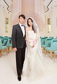 陶喆婚礼现场 与娇妻时尚婚纱照首度曝光