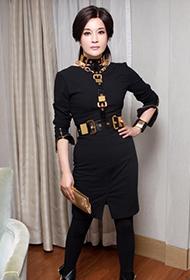 刘晓庆女王时尚霸气造型