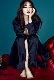 韩国人气明星尹恩惠时尚写真