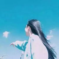我爱天空的蓝,海的蓝