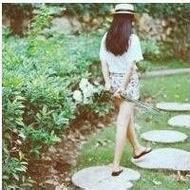 小清新孤独意境女生qq唯美背影头像
