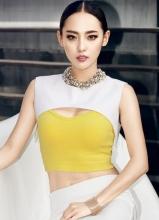 张嘉倪全新时尚大片 性感娇俏完美呈现