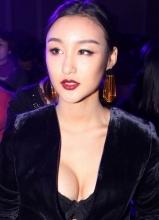 刘羽琦爆乳装亮相时尚盛典