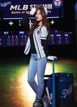 miss A秀智运动品牌代言写真 娇俏可人