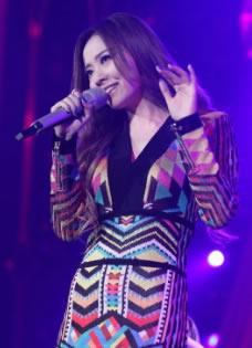《我是歌手3》张靓颖热情开唱