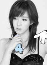 t-ara小分队新专辑封面写真
