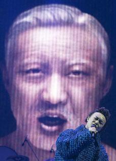 陈奕迅新舞台买亿万保险 长沙惊悚老年妆开唱